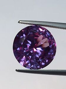 6mm Round SYN Corundum Alexandrite-like Color Change Gem Loose Stone Jewel