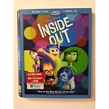 INSIDE OUT - Blu-Ray DVD *SLIP COVER ONLY* NO DVD, NO DISC, NO Digital HD Movie