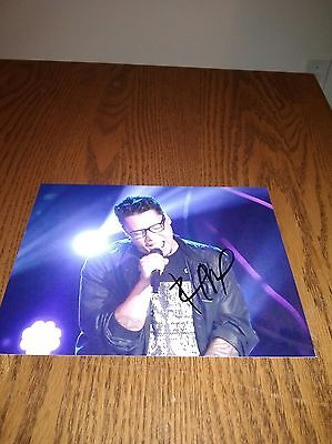 Preston Pohl R&B Singer Musician Signed 8x10 Photo The Voice