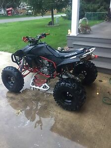 2007 TRX 450r trade for toolbox with tools London Ontario image 10
