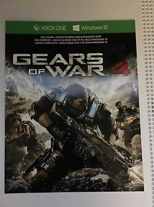 Gears of war 4 digital code