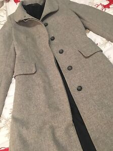 Beautiful long grey coat from Zara