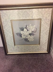 Beautifully framed Floral picture