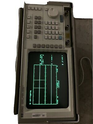 Hewlett Packard Hp 54502a Crt Digital Digitizing Oscilloscope 400mhz 400msas