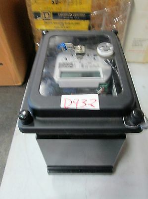 Ge Register Two Stator Watthour Meter Cat 715x05002 120v Class 20 3-w New