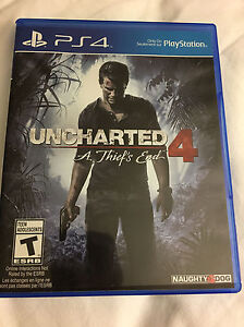 UNCHARTED 4 FOR PS4 NEW !