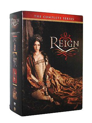 Reign: TV Series ~ Complete Season 1-3 & 4 (1 2 3 4) Brand New DVD Set