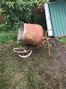 Antique cement mixer Mount Eliza Mornington Peninsula Preview
