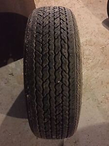 Tire with rim for trailer  Cornwall Ontario image 1