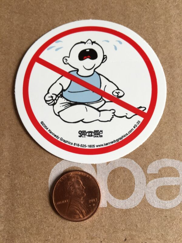 No Whiners Cry Baby Hard Hat Sticker Decal Funny Red White Sissy Bitch Helmet
