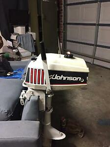 Johnson 2.3 auxiliary/trolling outboard 92-96 Taylors Lakes Brimbank Area Preview