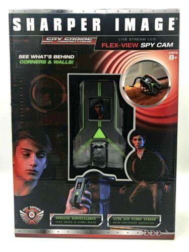 Spy Cam Sharper Image Spy Series Flex-View Camera Live Stream LCD Ages 8+ Toy