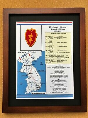 25th Infantry Division Unit Insignia and History in the Korean War