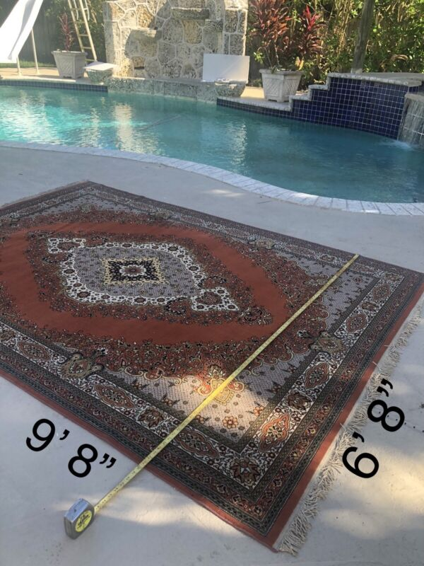 8 Turkish Area Rugs Double Knotted