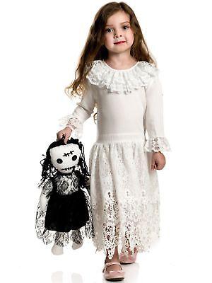 Voodoo-Puppe Gothik Kleid Kinder Halloween Kostüm 00231 (Voodoo Puppe Kostüm Kinder)
