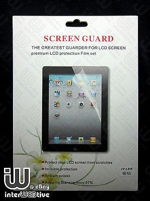 Ultra Clean HD Screen Guard Protector Film For Apple iPad Air 5 (5th Gen)