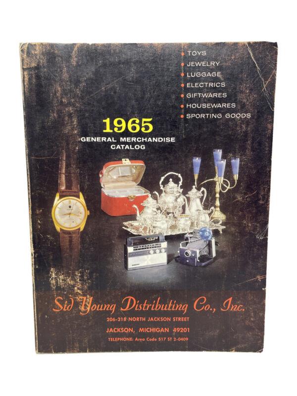Rare 1967-68 Sid Young Distributing Co Inc General Merchandise Catalog Michigan