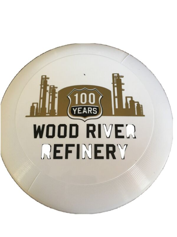 VINTAGE Shell Oil Wood River Refinery 100 YEARS REFINERY FRISBEE