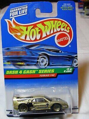 Hot Wheels – Ferrari F40 – 1998 Dash 4 Cash Series #2 of 4 - #722