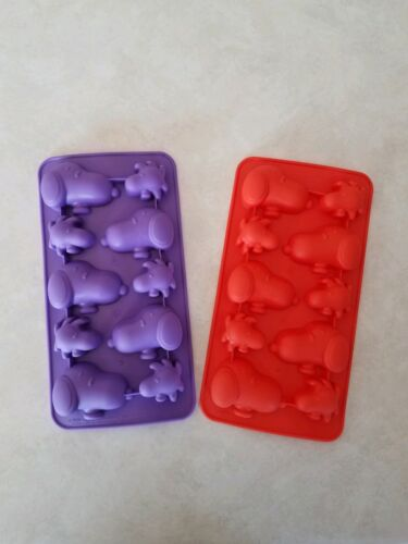 Peanuts snoopy charlie brown halloween fall woodstock ice cube mold candy