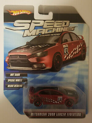 Hot Wheels Speed Machines Mitsubishi 2008 Lancer Evolution