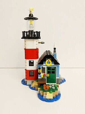 Lego 31051 Creator 3-in-1 Lighthouse Point, Used 90% Complete