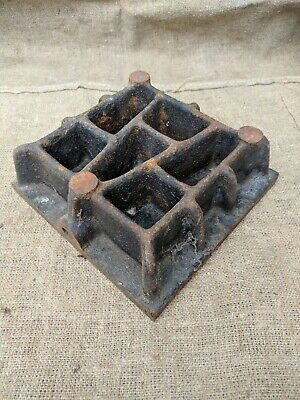Vintage Ussr Cast Iron Surface Plate 10in