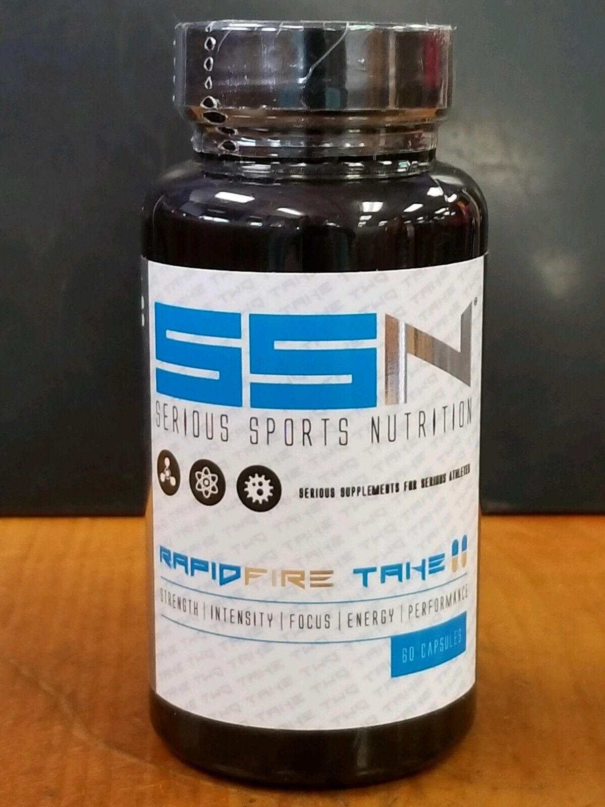 Serious Sports Nutrition SSN Take II - 60 Caps  -ORIGINAL FO