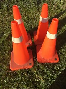 4- Safety Cones