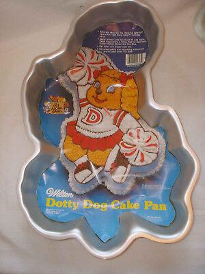 Vintage 1985 Wilton The Get Along Gang Dotty Dog Cake Mold Pan 2105-3975