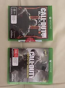 Call of duty Infinite Warefare + Call of duty Black Ops 3 Parkinson Brisbane South West Preview