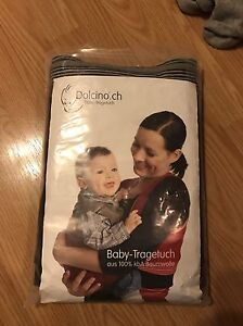 Dolcino.ch Baby-Tragetuch Woven Baby Wrap
