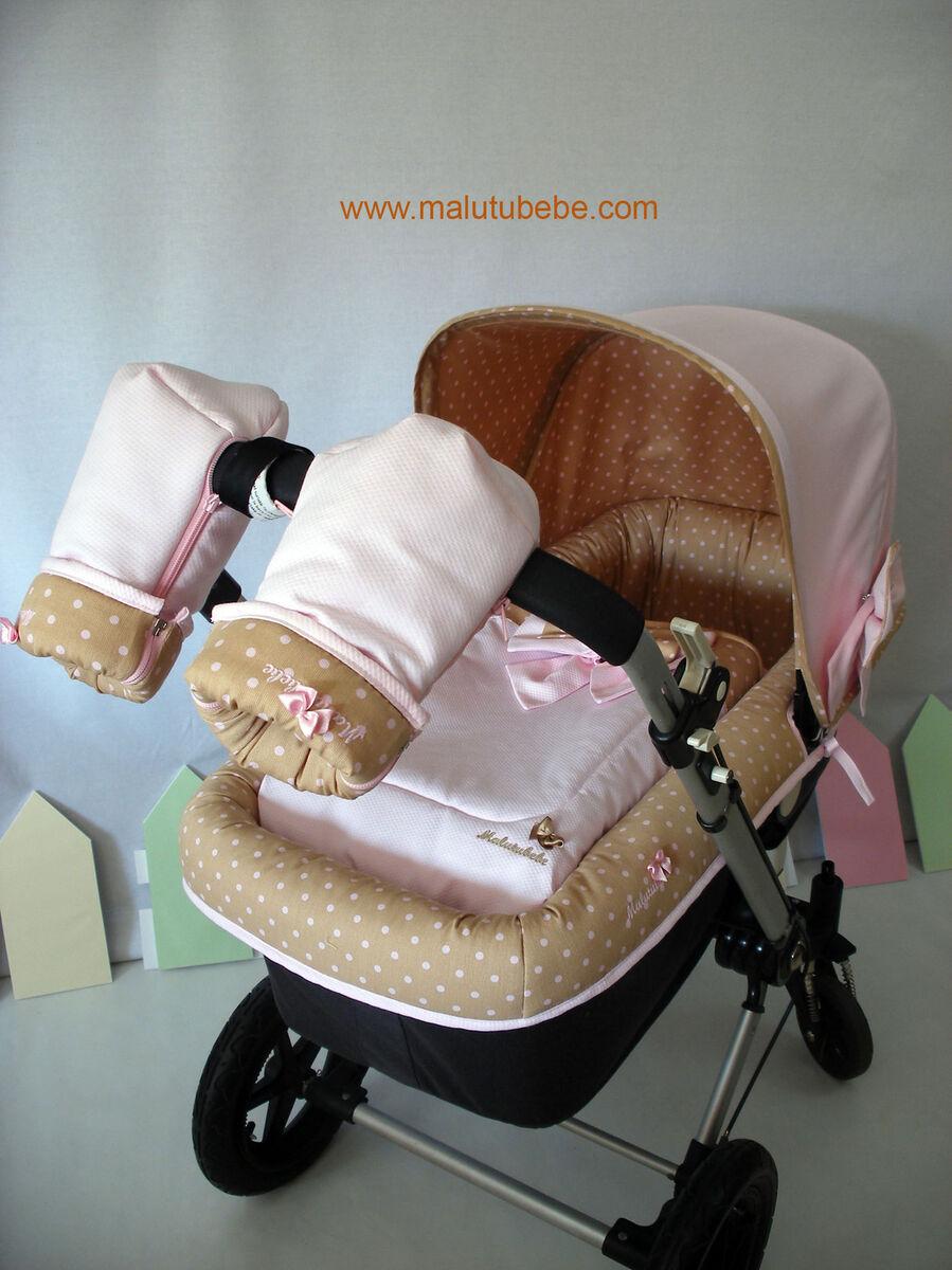 Sacos fundas conjuntos carrito bebe bugaboo maclaren for Bugaboo gemelar segunda mano
