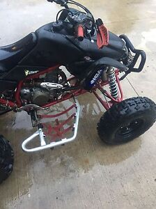 2007 TRX 450r trade for toolbox with tools London Ontario image 8