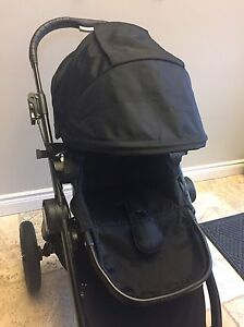 Newest model (Black) Baby jogger city select stroller