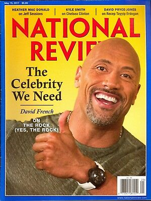 National Review May 15 2017 The Rock   Jeff Sessions   Chelsea Clinton