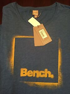 BNWT Men's BENCH relaxed fit Tshirt