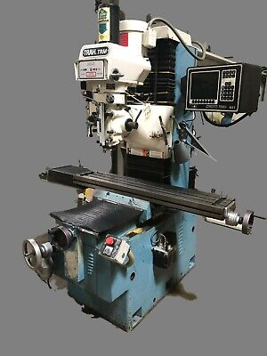 Southwestern Industries Trak Trm 2axis Cnc Bed Mill
