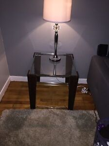 NEED GONE asap!! Glass coffee table & 2 end tables!