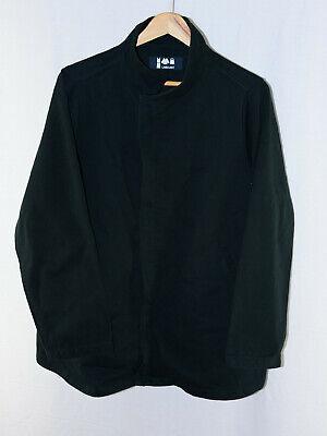 LABO.ART dark green hidden placket zip coat jacket size 1 ITALY