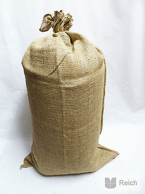 10 Jute Sacks Potato bags Bag 25 Kg capacity 51 x 86,5 cm new