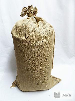 10 JUTE SACKS kartoffelsäcke Bag 25 kg Capacity 51 X 86,5 cm NEW