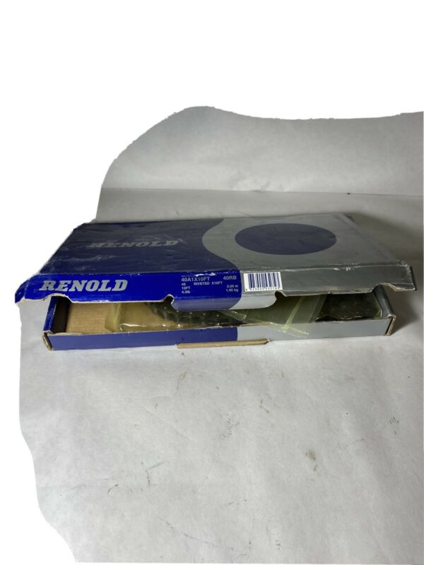 Renold 40A1X10FT Riveted Roller Chain 40RB