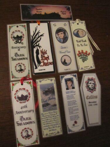 Dark Shadows Laminated Bookmarks