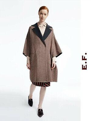 """NEW!! MAX MARA WEEKEND Coat 14USA 48IT 16GB """"CENERE"""" Blend Wool in Burgundy"""