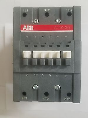 Abb A110-30 Contactor 600v 140a 100hp 24 Vac Coil Made In Sweden Sell As Is.