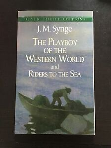 The Playboy of the Western World and Riders to the Sea by Synge