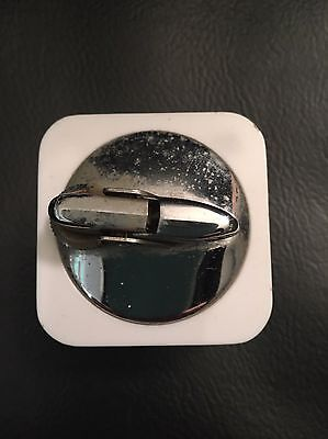 Vintage Ronson Lighter Plastic Square Tobacciana Made in England