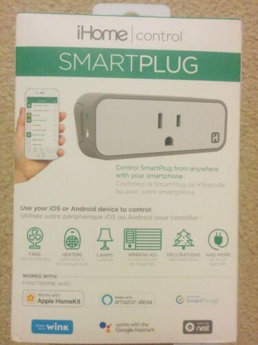 iHome Smartplug iSP6XC Wi-Fi Smartplug, new & sealed