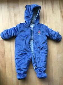 Carters 3-6 month Bunting Suit.